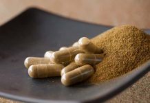 Image of Kratom Capsules available online from KratomMasters