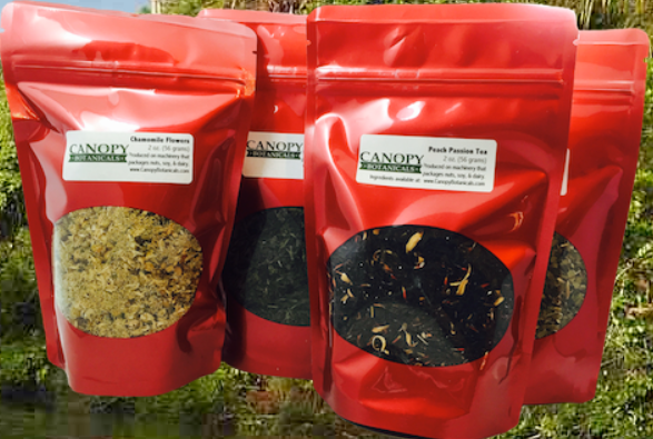 Canopy Botanicals Teas Products